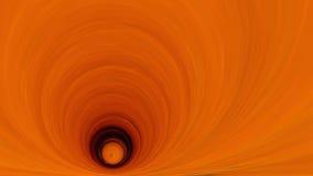 Tunnel arancio profondo stilizzato 16x9 Fotografia Stock Libera da Diritti