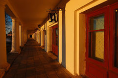 The tunnel. With arches in Suzdal Stock Photos