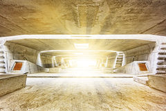 Tunnel Architecture construction Royalty Free Stock Photography