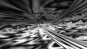Tunnel astratto di frattale stock footage