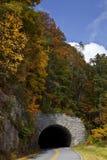 Tunnel auf blauen Ridge Parkway Lizenzfreie Stockfotografie