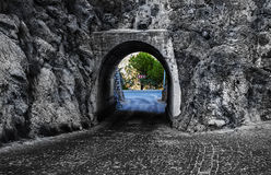 Tunnel av hopp Royaltyfri Fotografi
