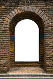 Tunnel background and business concept. tunnel with old brick. the end of tunnel and concept business successfully. mystery tunnel Stock Photos