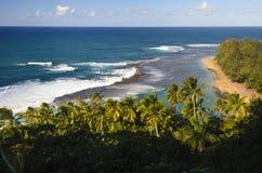 Tunnel Beach, Na Pali Coast Royalty Free Stock Photo