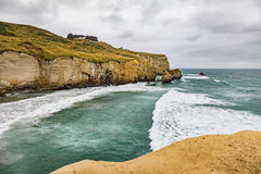 Tunnel Beach New Zealand Royalty Free Stock Photography
