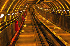 Tunnel-beyoglu. Istanbul under the partition, Karakoy - tunnel tram from beyoglu royalty free stock images