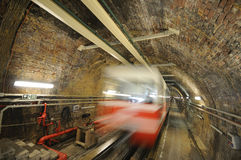 Tunnel, Beyoglu - Istanbul, die Türkei Stockfotos