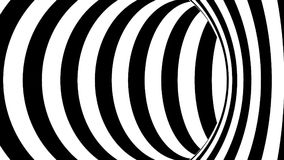 Tunnel in bianco e nero royalty illustrazione gratis