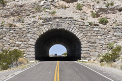 Tunnel in Big Bend National Park Royalty Free Stock Photography