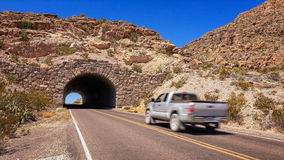 Tunnel in Big Bend National Park Stock Photography
