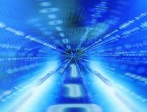 Tunnel binaire illustration de vecteur