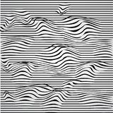 Tunnel. Black and white abstract striped background. Optical art.  illustration. Tunnel. Black and white abstract striped background. Optical art. 3D Stock Photography