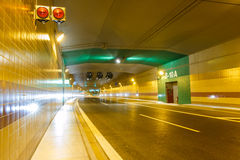 Tunnel Blanka Fotografia Stock Libera da Diritti