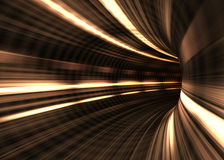 Tunnel Blur / Concept Of Speed Stock Photos