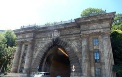 Tunnel in Budapest Stockfotos