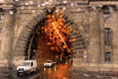 Tunnel in Budapest Stock Image