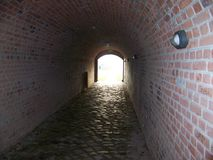 The tunnel royalty free stock photos
