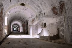 Old military bunker Royalty Free Stock Photo