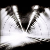 Tunnel in BW Fotografia Stock