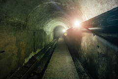 Tunnel of cable collector Royalty Free Stock Photos