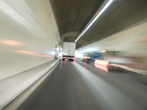 Tunnel Car Stock Photography