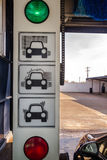 Tunnel Car Wash Machine Royalty Free Stock Images