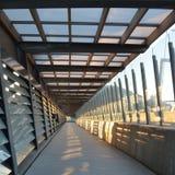 Tunnel carré de passage couvert Image stock