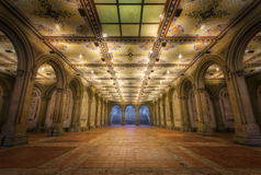 Tunnel in Central Park, New York City Royalty Free Stock Photo