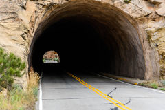 Tunnel at Colorado National Monument Royalty Free Stock Photo