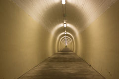 Tunnel complètement de lLight Image libre de droits