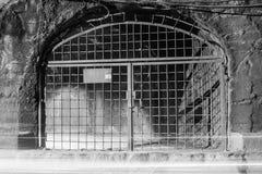 Tunnel con le luci commoventi Immagine Stock Libera da Diritti