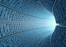 Tunnel / Concept Of Technology Stock Photography