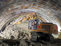 Tunnel Construction Stock Image