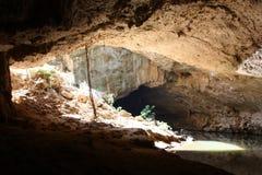 Tunnel creek, kimberley, west australia Royalty Free Stock Images