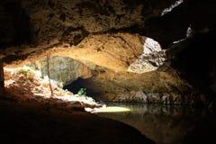 Tunnel creek, kimberley, west australia Royalty Free Stock Photos