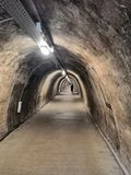 Tunnel in Croazia fotografia stock
