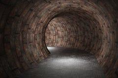 tunnel 3D illustration de vecteur