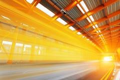 Tunnel d'acciaio Fotografia Stock Libera da Diritti