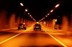 Tunnel d'omnibus image libre de droits
