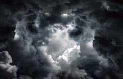 Tunnel dans les nuages photos libres de droits