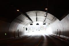 Tunnel in de bergen Stock Fotografie