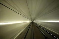 Tunnel de chemin de fer Photo libre de droits