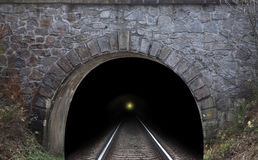Tunnel de chemin de fer Photo stock