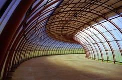Tunnel de courbes Photo libre de droits