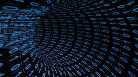 Tunnel de Digital illustration libre de droits