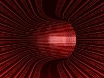 Tunnel de Digitals Photographie stock libre de droits