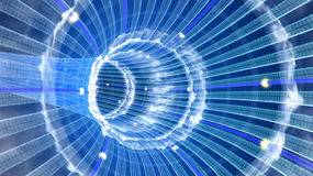 Tunnel de données Images libres de droits