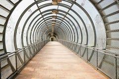 Tunnel de la transition extérieure Images stock