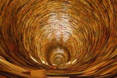 Tunnel de livre Image stock