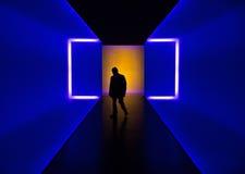 Tunnel de lumière photos libres de droits